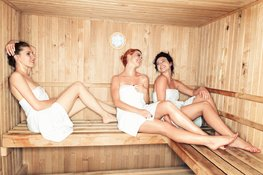 True or false: are saunas good for the skin?