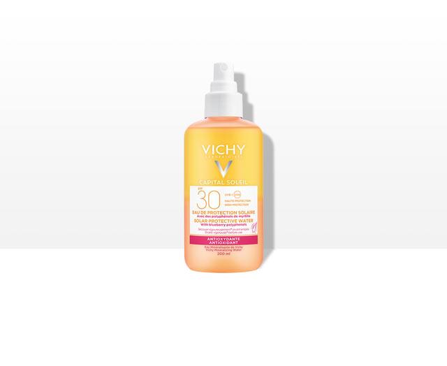Agua de protección Solar FPS 30 - Antioxidante